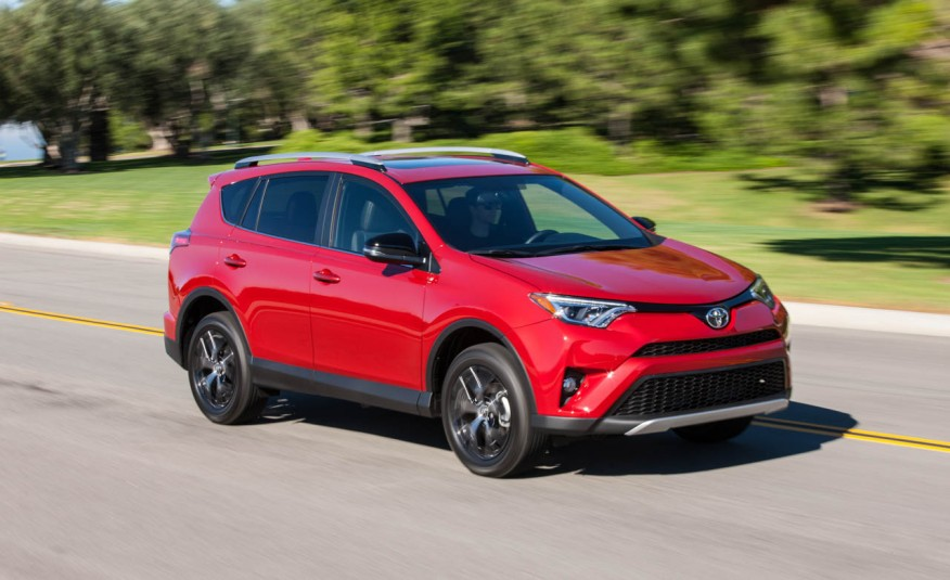 The 2015 Toyota Rav 4 has a smooth and quiet drive and the Toyota reputation ensures that you'll be driving this car for a long time. Photo: Car & Driver