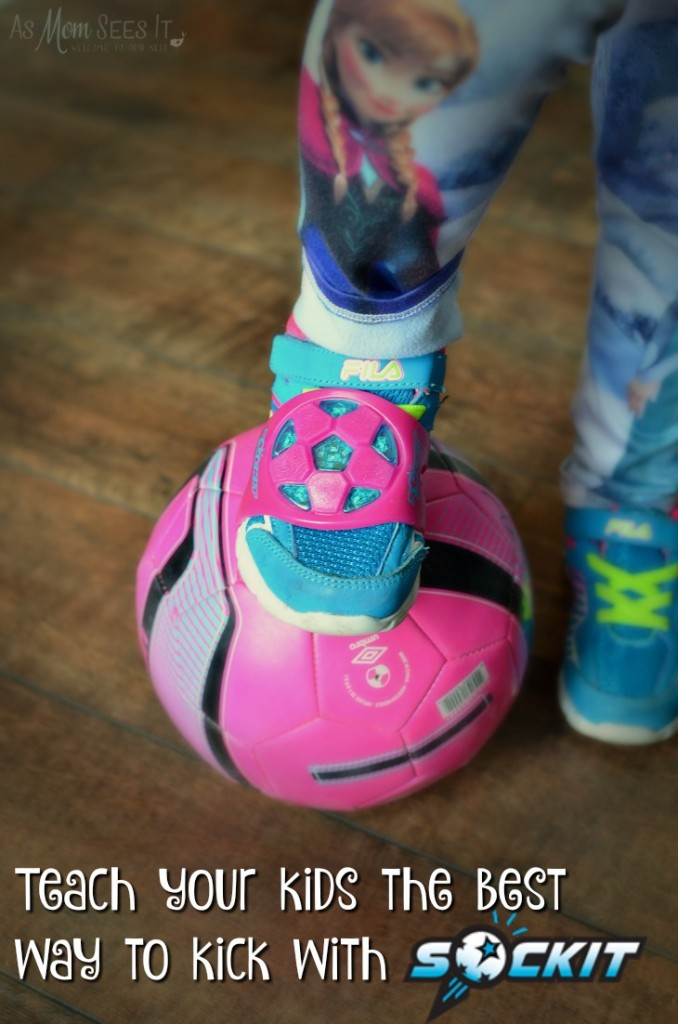 The Kickit will help train soccer players of all ages
