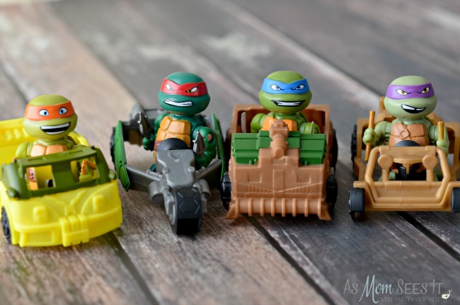 TMNT T-Racers are so much fun for kids, and adults!