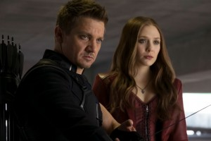 Interview With Scarlet Witch And Hawkeye: Elizabeth Olsen and Jeremy Renner #CaptainAmericaEvent