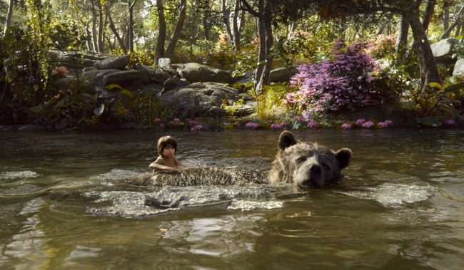 The Jungle Book, directed by Jon Favreau, is filled with amazing images