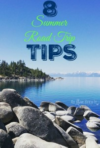8 Tips To Make Your Summer Road Trip Rock! #Giveaway