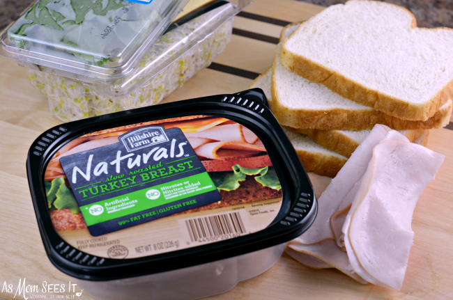 A tastier and healthier lunch with Hillshire Farms Naturals Slow Roasted Turkey Breast