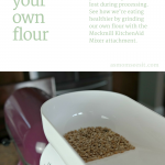 Eat Healthier By Milling Your Own Grain With #Mockmill Grain Mill + Save $80