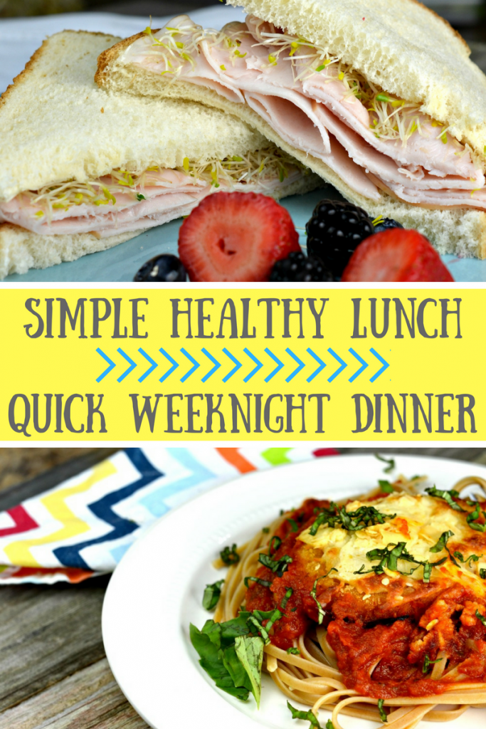 Simple weekday meals for busy moms