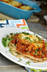 ad: Easy Meals For Back-To-School: Weeknight Chicken Parmesan