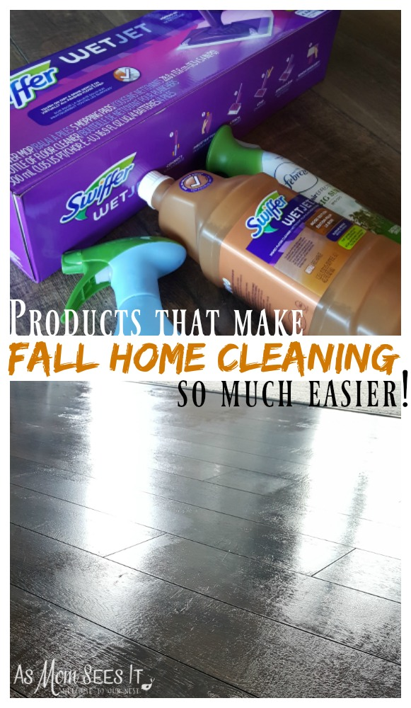 Fall Home Cleaning #FallReset