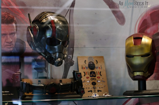 These Costumes Are Not For Halloween: Marvel's Civil War Costume Display #DoctorStrangeEvent