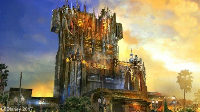 New Guardians of the Galaxy ride at Disneyland