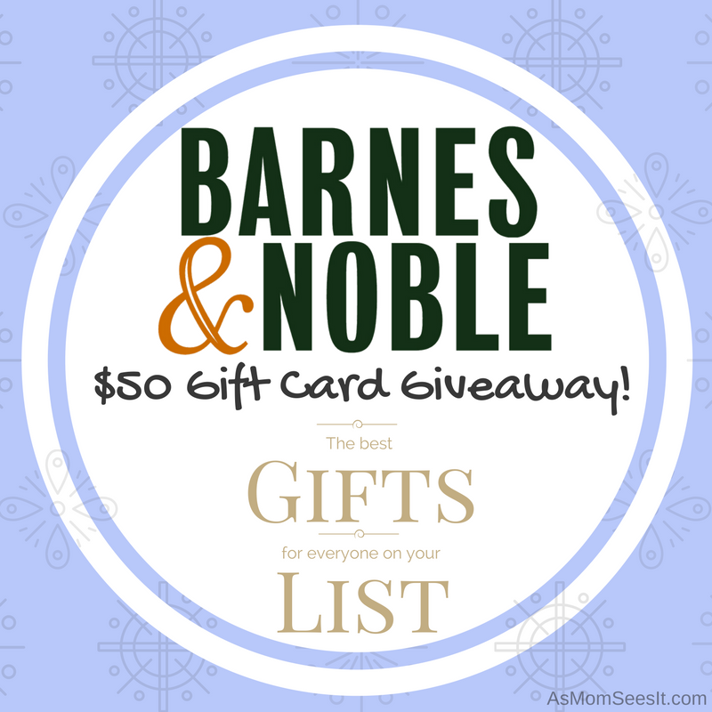 Holiday Gifts For Everyone On Your List At Barnes & Noble: #BNGiftGoals