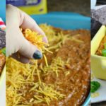 Holiday Party Dish: Cheesy Chili Bean Dip