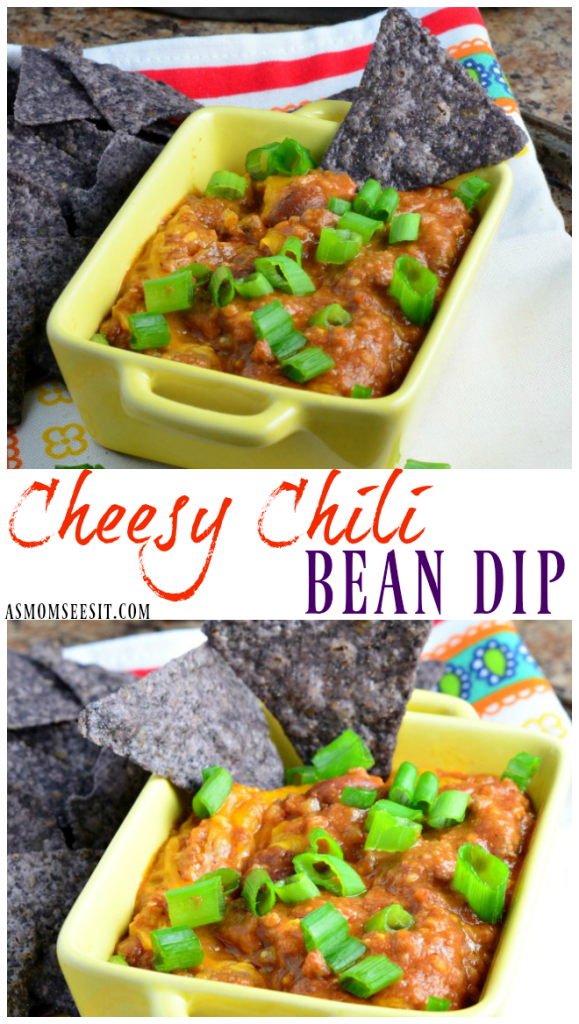 Cheesy Chili Bean Dip