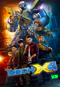 Why Disney's Mech-X4 Is The Best New Show For Families #MECHX4Event