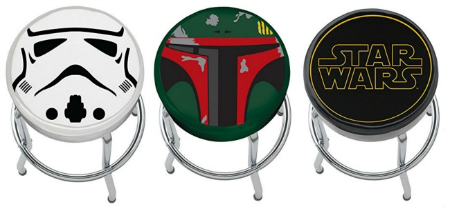 Awesome Gift Ideas For The Star Wars Fan These Are The  : Star Wars Bar Stools from www.asmomseesit.com size 650 x 306 jpeg 52kB