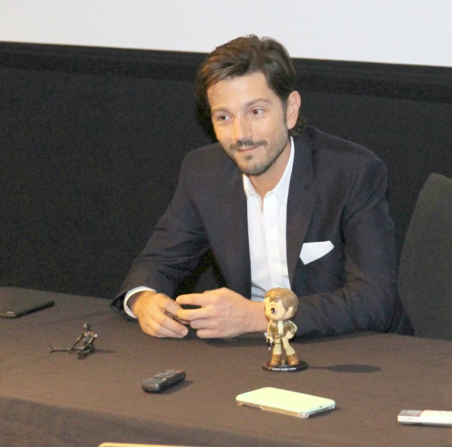 Rogue One's Diego Luna shares why the film is so important to his family