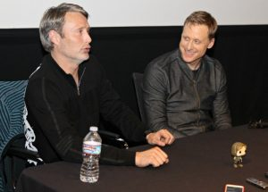 Exclusive Interview: Rogue One Stars Alan Tudyk and Mads Mikkelsen #RogueOneEvent