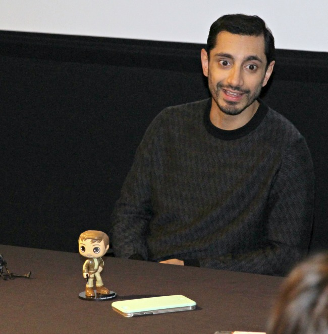Rogue One's Riz Ahmed shares his love for the Star Wars legacy he is now a part of
