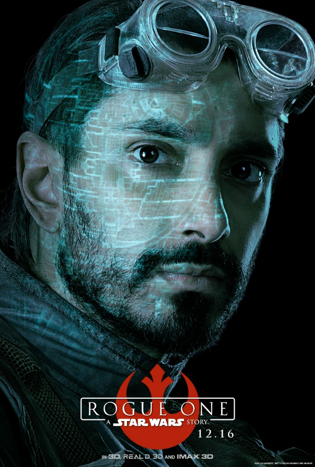 Riz Ahmed stars as Bodhi Rook in Rogue One: A Star Wars Story