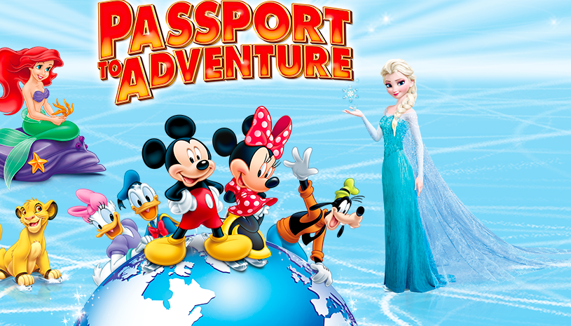 Disney On Ice Passports to Adventure