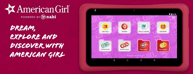 nabi American Girl Tablet
