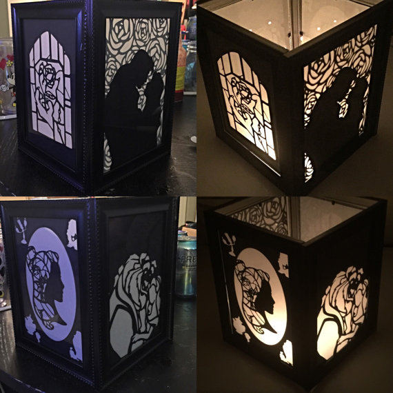 Beauty and the Beast lantern