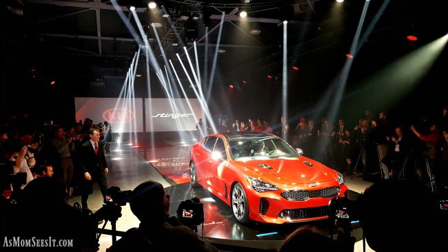 The NAIAS debut of the 2018 Kia Stinger