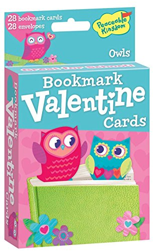 Bookmark Valentine Cards