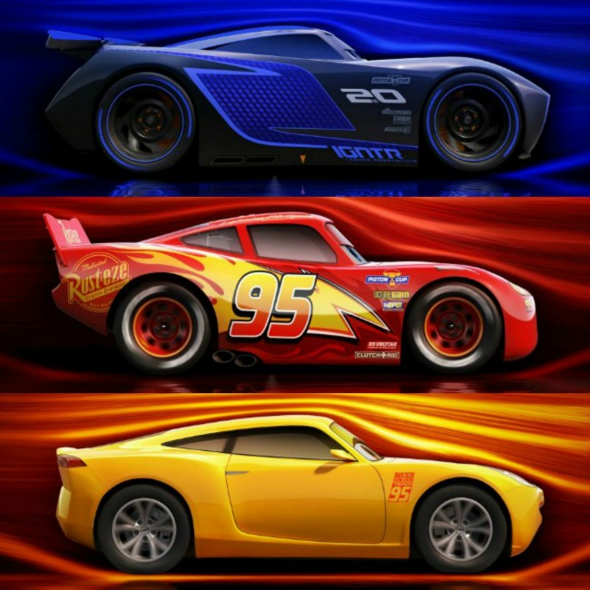 It's Not Just Concept Cars At NAIAS: Meet The Cast Of Disney/Pixar's Cars 3!