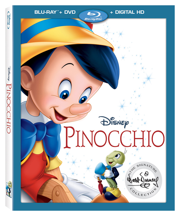 Pinocchio Signature Collection Blu-Ray DVD