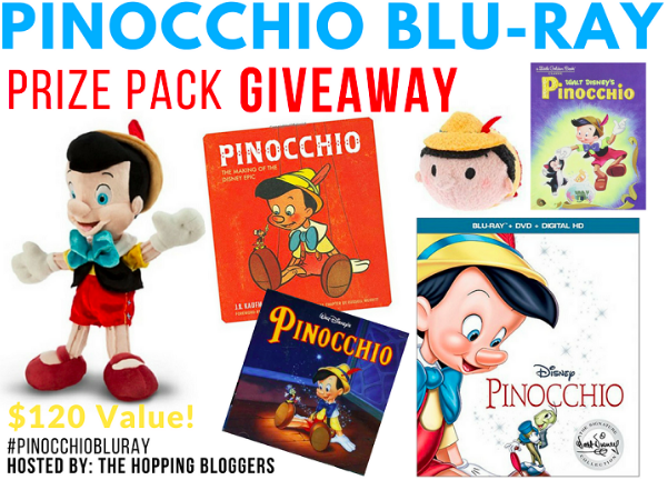Disney's Pinocchio: 10 Things You Didn't Know! Plus A Prize Pack Giveaway