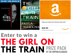 The Girl On The Train Movie Pack + Gift Card #Giveaway