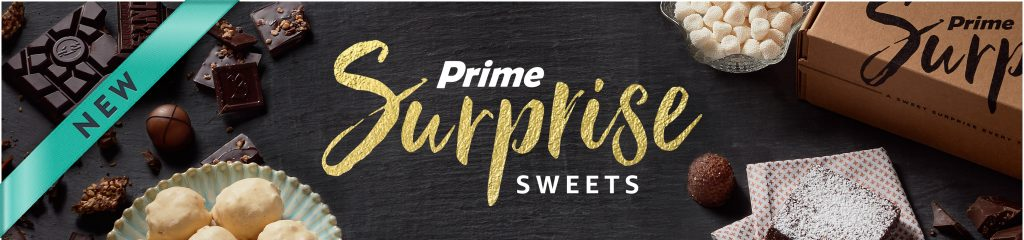 Amazon Prime Surprise box of sweets