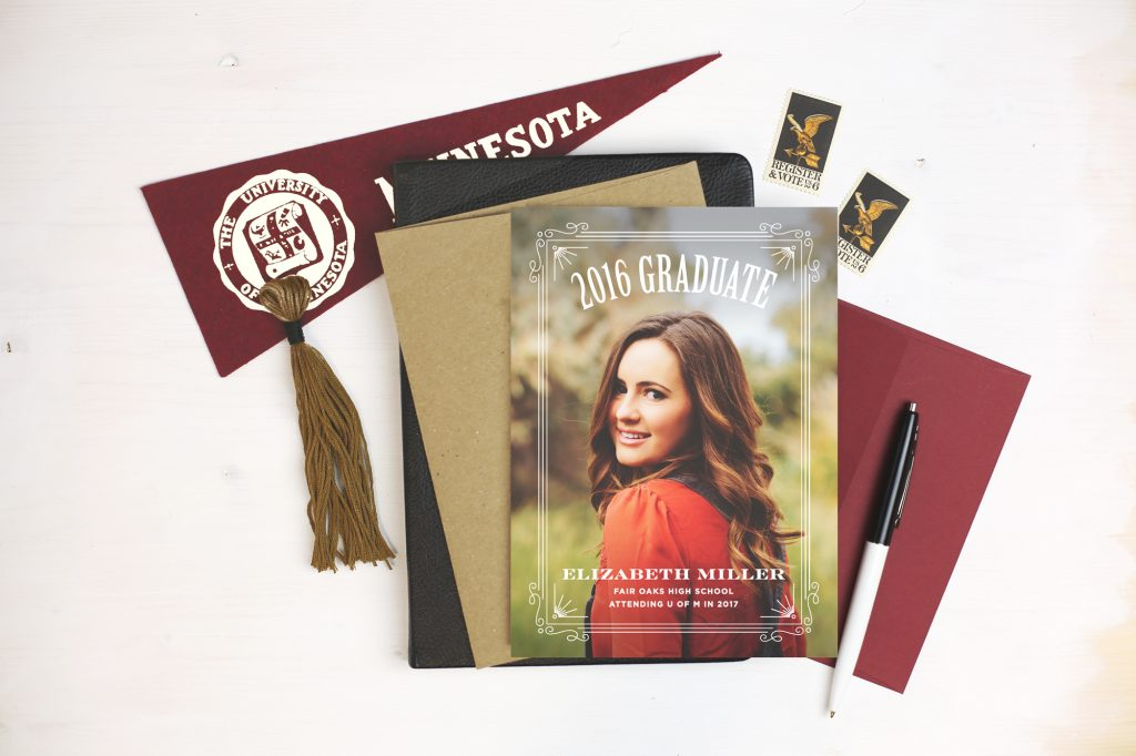 Find the perfect customized graduation announcements from Basic Invite