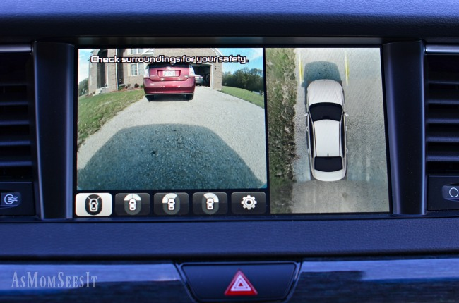 I love the Surround View Monitor on the 2017 Kia Cadenza