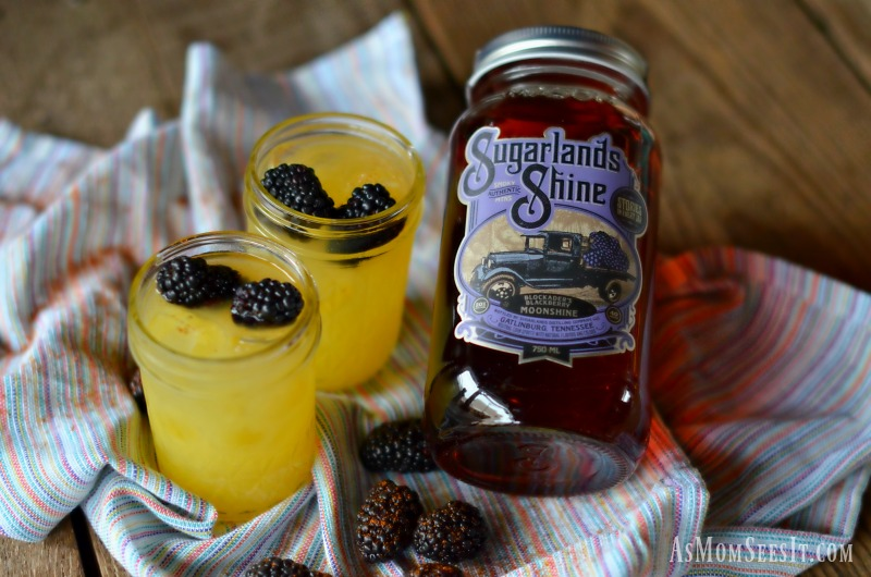 Sugarlands Shine Blackberry Moonshine is refreshing and fruity and makes a great summer cocktail addition
