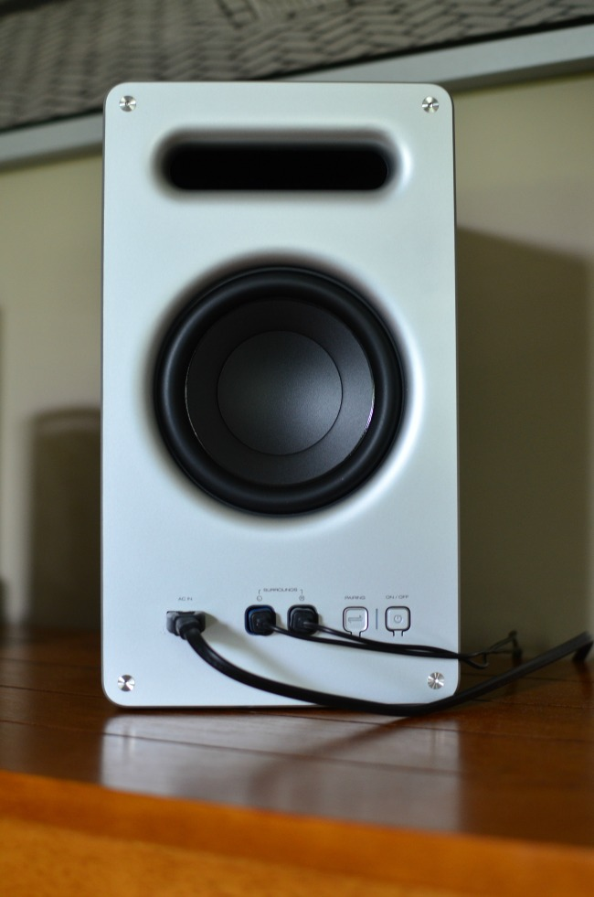 The bass on the new Vizio 5.1 Sound System is amazing