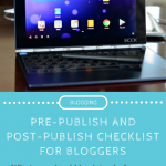 Before And After Posting To Your Blog: Free Checklists For Bloggers