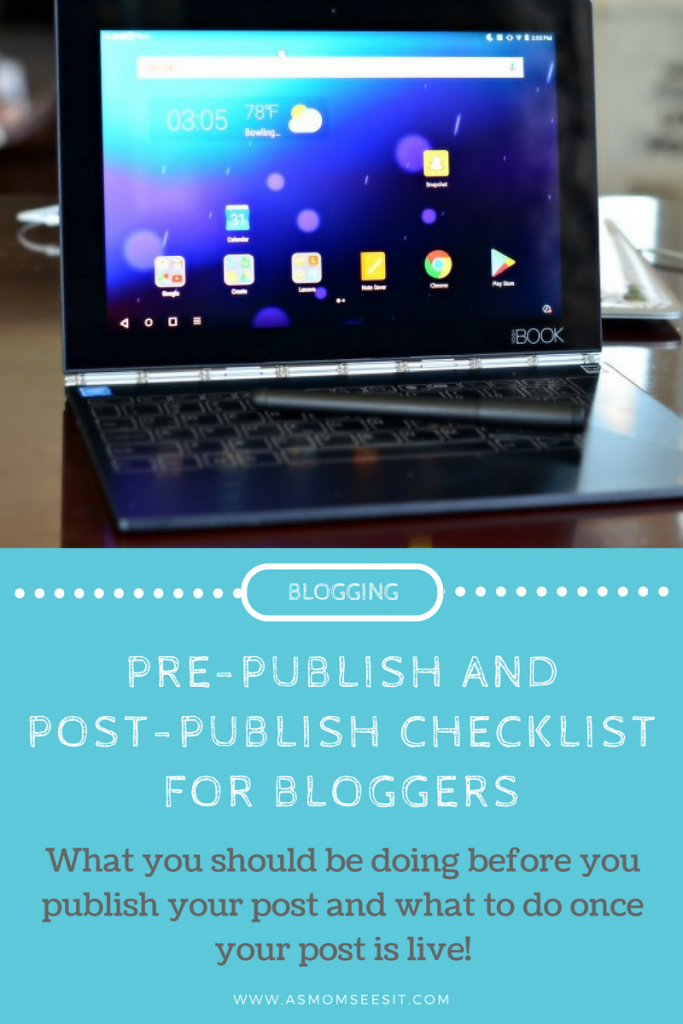 What you should be doing before you publish your post and after posting