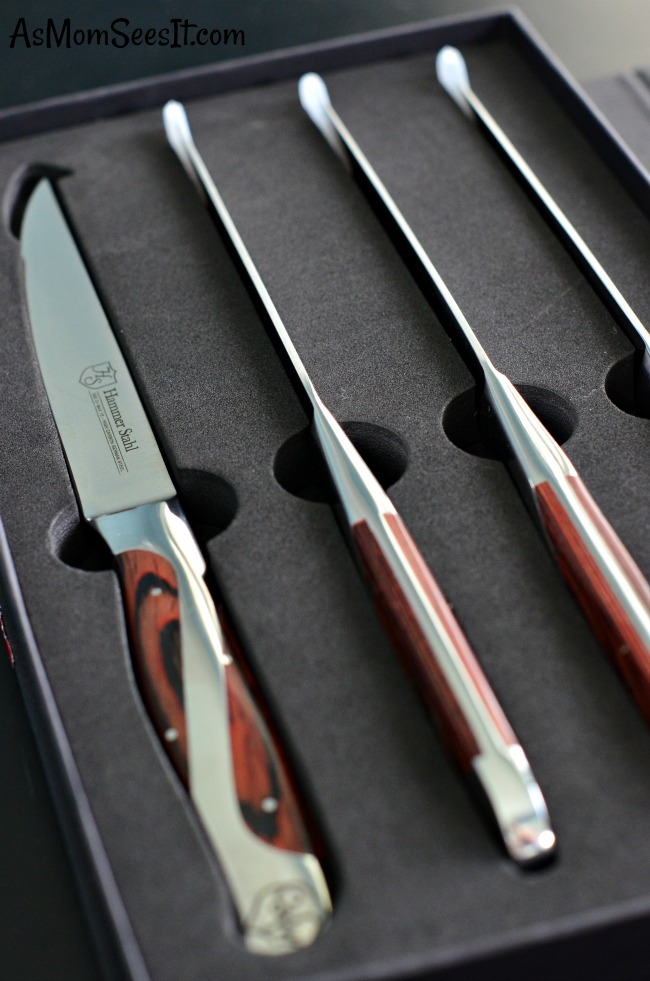 You'll notice a difference in the way Hammer Stahl manufactures their knives as soon as you pick one up