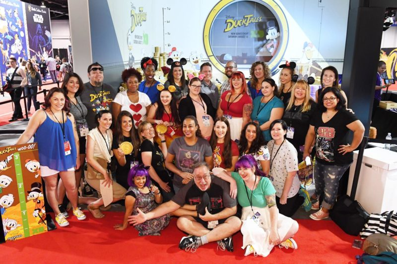 D23 Expo bloggers take a dive into the Duck Tales moneypit