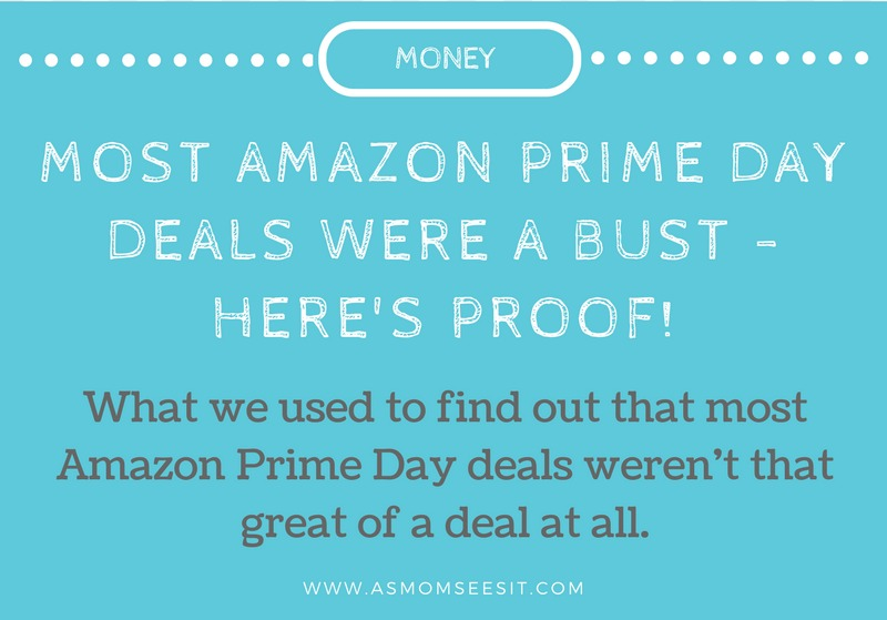 Most Amazon Prime Day Deals Were A Bust – Here's Proof!