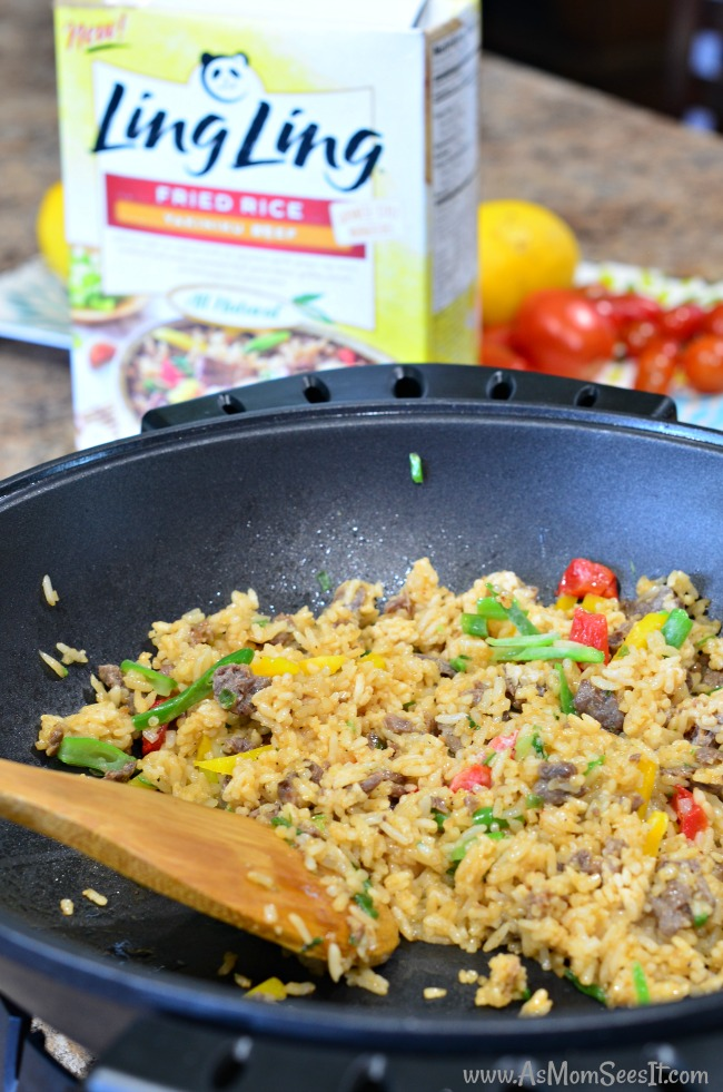 Ling Ling Fried Rice meals are a genuine taste of Asian inspired meals
