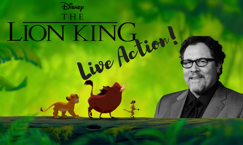 A Live action version of The Lion King has been announced