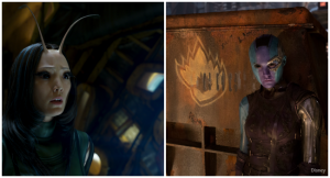 Meeting Mantis And Nebula: An Exclusive Guardians Of The Galaxy Interview
