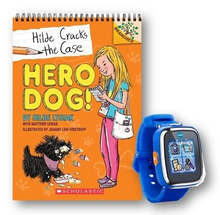Enter to win a copy of Hero Dog and a V-Tech Kids watch