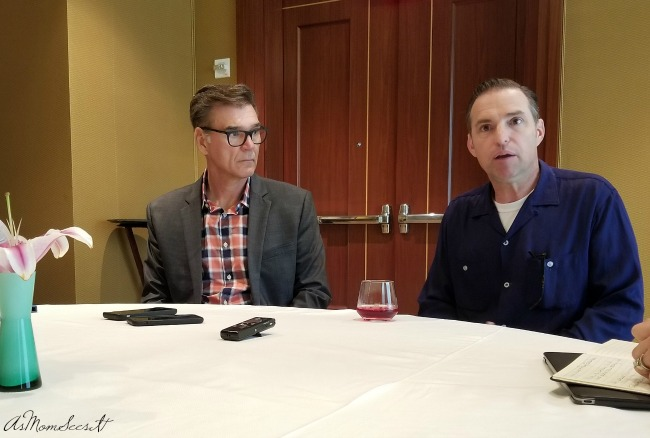 Interview with Ray Evernham and Jay Ward from Cars 3