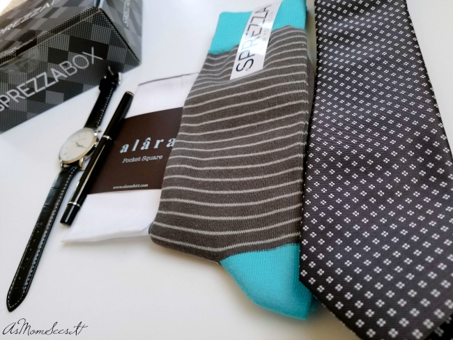Sprezza Box is a men's subscription box that is collection of fashion items curated by a personal stylist
