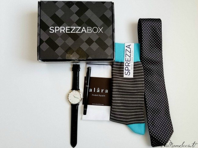 Sprezza Box is a men's subscription box that delivers quality products to your door