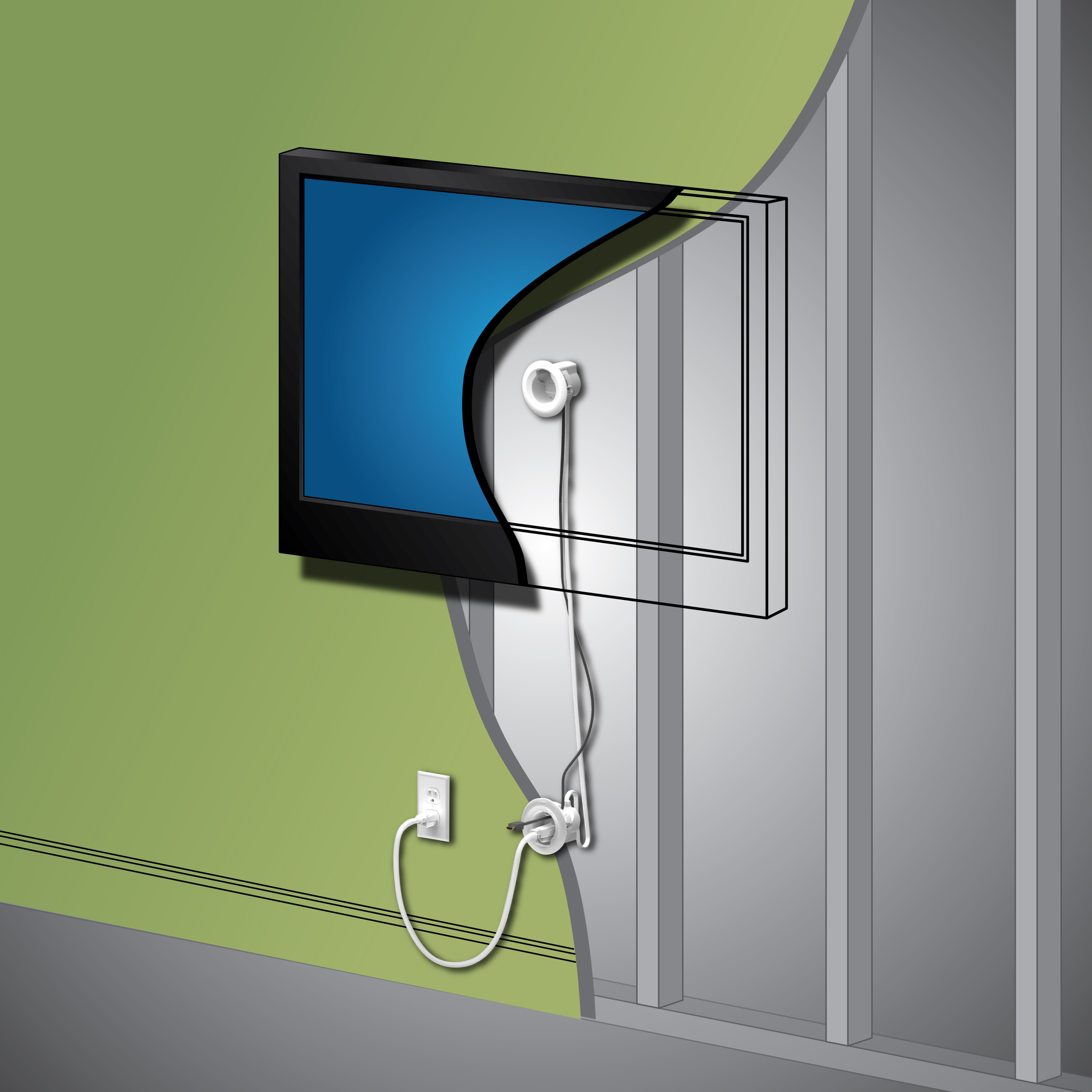 The Legrand In Wall Power Kit Review: Hide TV Cords From Sight!