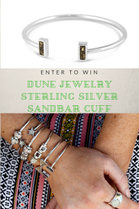 Customized Sterling Silver Jewelry With A Piece Of Your Favorite Place + Giveaway
